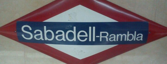 FGC Sabadell Rambla is one of Went before.