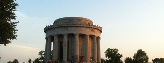 George Rogers Clark National Historical Park is one of Famous Statues Around the World.