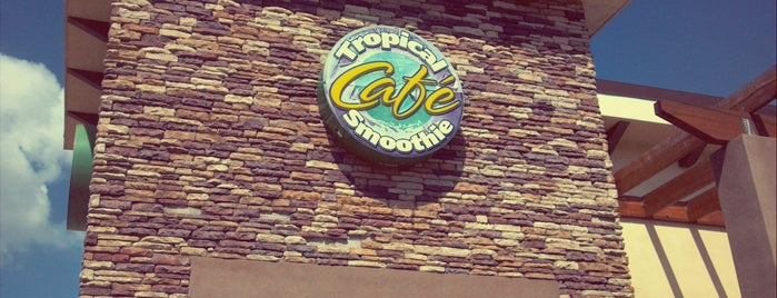 Tropical Smoothie Cafe is one of Tempat yang Disukai Tim.