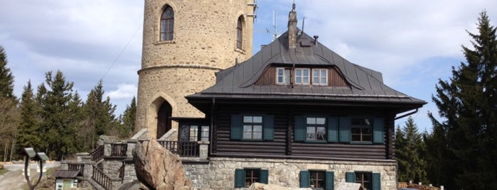 Horská chata Kleť is one of Trip Ideas.