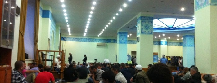 Ісламський Культурний Центр / Islamic Cultural Center / المركز الثقافي الإسلامي is one of Hatem 님이 저장한 장소.