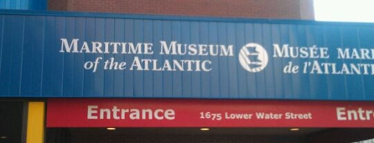 Maritime Museum of the Atlantic is one of Halifax.