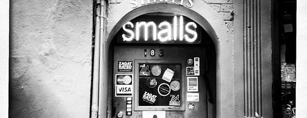 Smalls Jazz Club is one of NYC Bars.