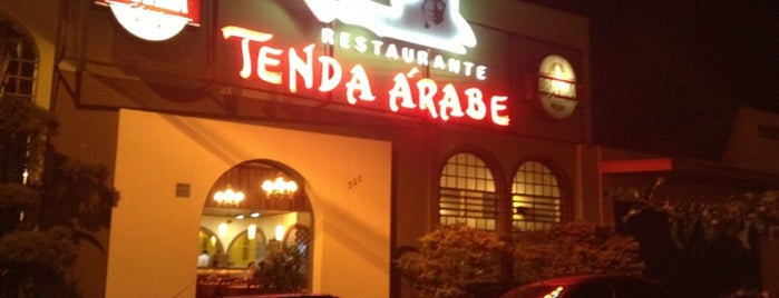 Restaurante Tenda Árabe is one of Lugares favoritos de Gustavo.