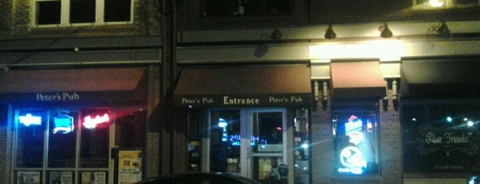 Peter's Pub is one of Best Bars in the 412 Area code.