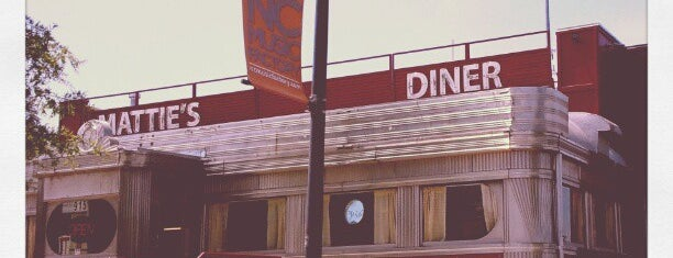 Mattie's Diner is one of Uptown Charlotte Dining and Nightlife.