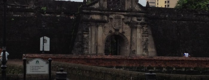 Fort Santiago is one of Favorite Places Around the World.