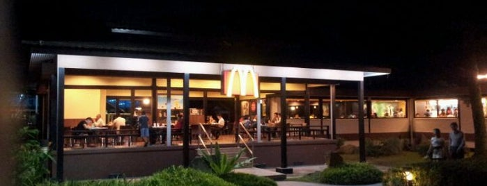 McDonald's is one of Maddie : понравившиеся места.