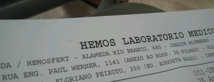 Hemos Laboratório is one of diversos.