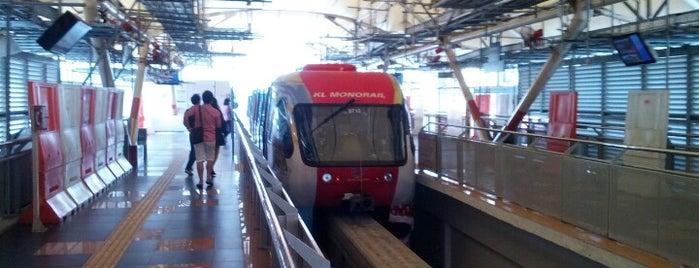 모노레일 KL 센트럴역 (MR1) is one of Middle East.
