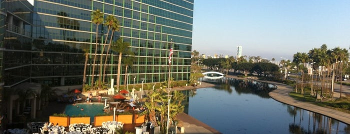 Hyatt Regency Long Beach is one of so cal.