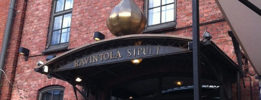 Ravintola Sipuli is one of Lugares favoritos de Mahi.