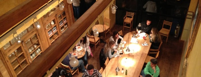 Le Pain Quotidien is one of places.