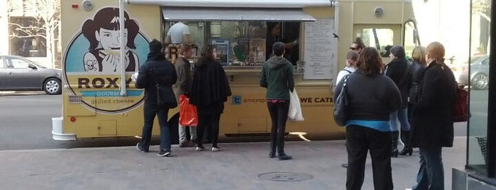 Roxy's Gourmet Grilled Cheese Truck is one of Boston Vegan.
