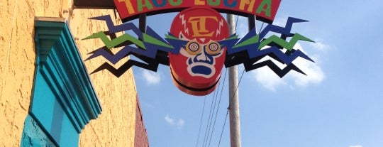 Taco Lucha is one of Kansas.