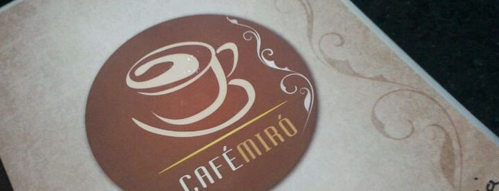 Café Miró is one of Cafés de Recife.