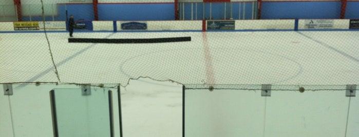 Rockland Ice Rink is one of สถานที่ที่บันทึกไว้ของ Megan.