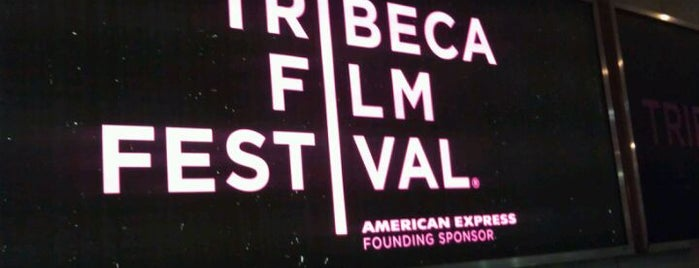 Tribeca Cinemas is one of Tribeca Film Festival #TFF2012.