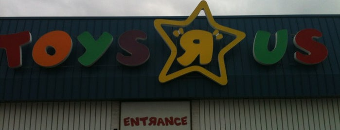 """Toys""""R""""Us is one of Chrissy's Liked Places."""