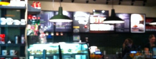 Starbucks is one of PayPass Moscow.