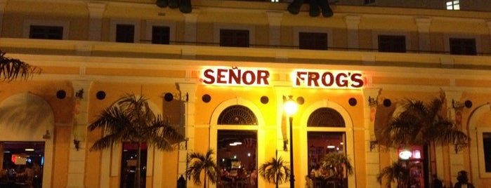 Señor Frog's is one of Favorites.