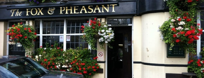 Fox & Pheasant is one of BarChick's Bars with Benefits.