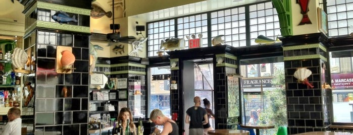 John Dory Oyster Bar is one of Female Chefs in NYC.