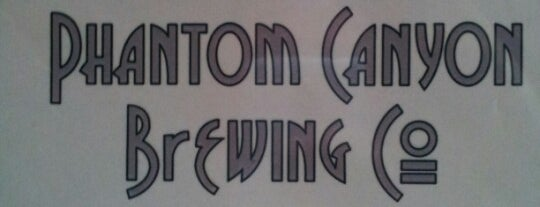 Phantom Canyon Brewing Company is one of Colorado Breweries.