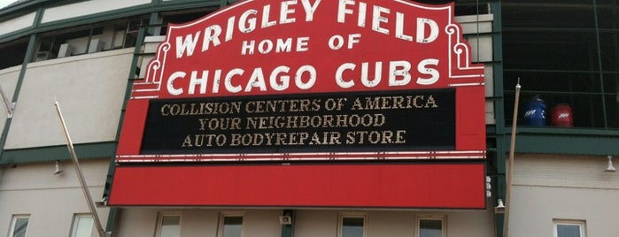 Wrigley Field is one of Leadership Institute: Chicago.