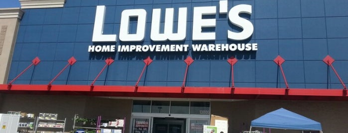 Lowe's is one of Matt's Liked Places.
