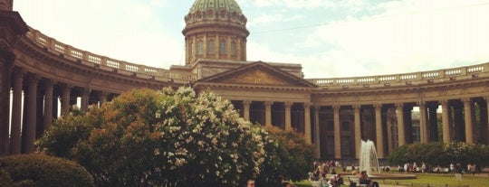 The Kazan Cathedral is one of Sight-Seeing in SPB.
