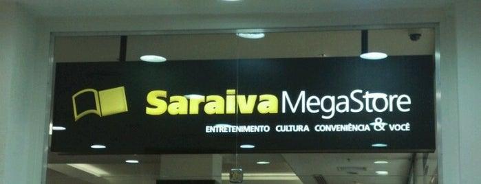Saraiva Megastore is one of สถานที่ที่ Gabriel ถูกใจ.