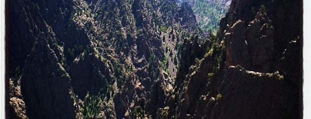 Black Canyon of the Gunnison National Park is one of SW US Roadtrip.