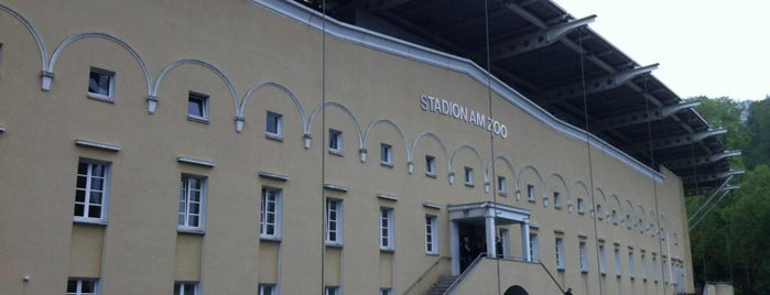 Stadion am Zoo is one of International Sports~Part 1....