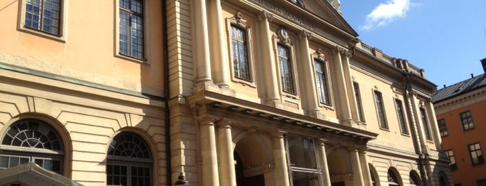 Nobel Museum is one of Stockholm City Guide.