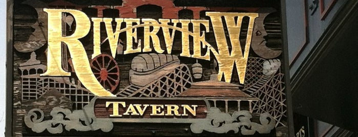 Riverview Tavern is one of Best Chicago Craft Beer Bars.