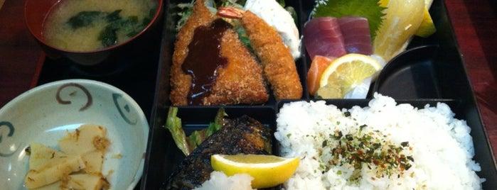 海鮮料理 まどもあぜる is one of ランチ.