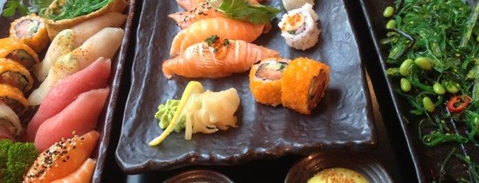 Karma Sushi, Rolls & Juices is one of Aarhus.