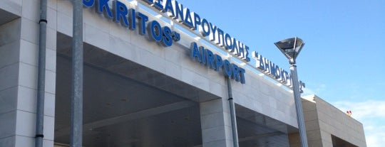 Alexandroupolis International Airport Democritus (AXD) is one of Million Mile High.