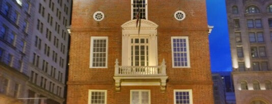Old State House is one of bean town baby.