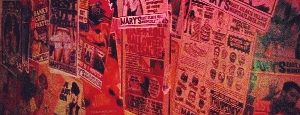 Mary's is one of Gay Places.