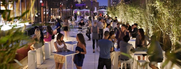 The Terrace at Yotel is one of Best Rooftop and Outdoor Bars in New York City.