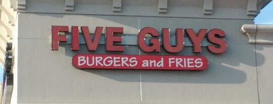 Five Guys is one of Lieux qui ont plu à Fatih.