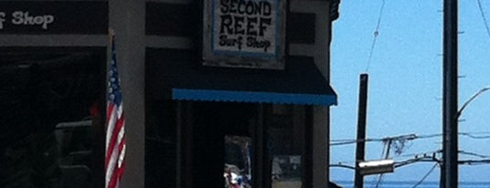 Second Reef Surf Shop is one of Shopping.