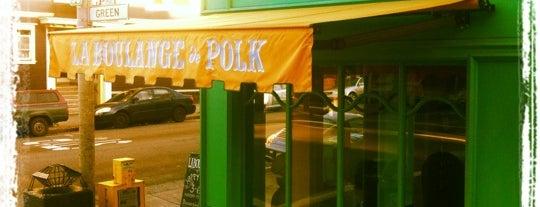 La Boulange de Polk is one of SF.