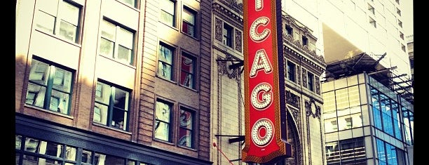 The Chicago Theatre is one of Comedy & Theater in Chicagoland.