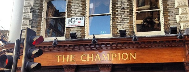 The Champion is one of London Pubs.