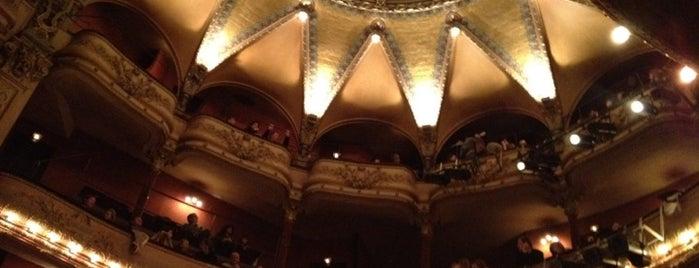 Théâtre Antoine is one of Tempat yang Disukai Emmanuelle.