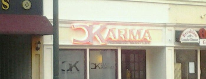 Karma is one of places we like.