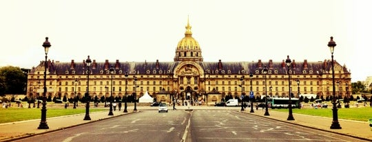 Esplanade des Invalides is one of Paris.